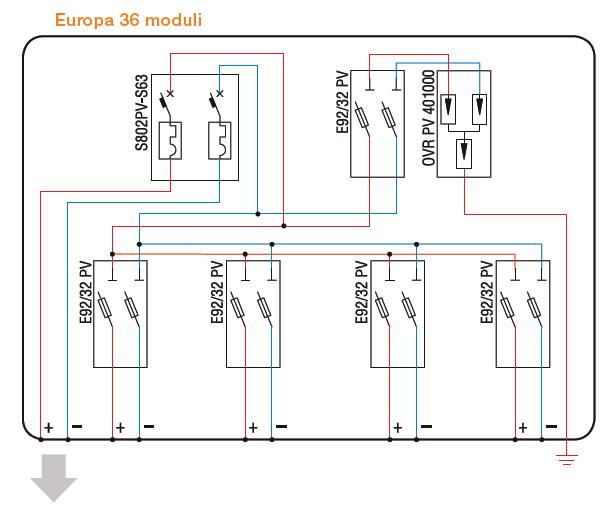 Schema Elettrico Quadro Di Stringa : Quadri di campo per fotovoltaico abb test energia